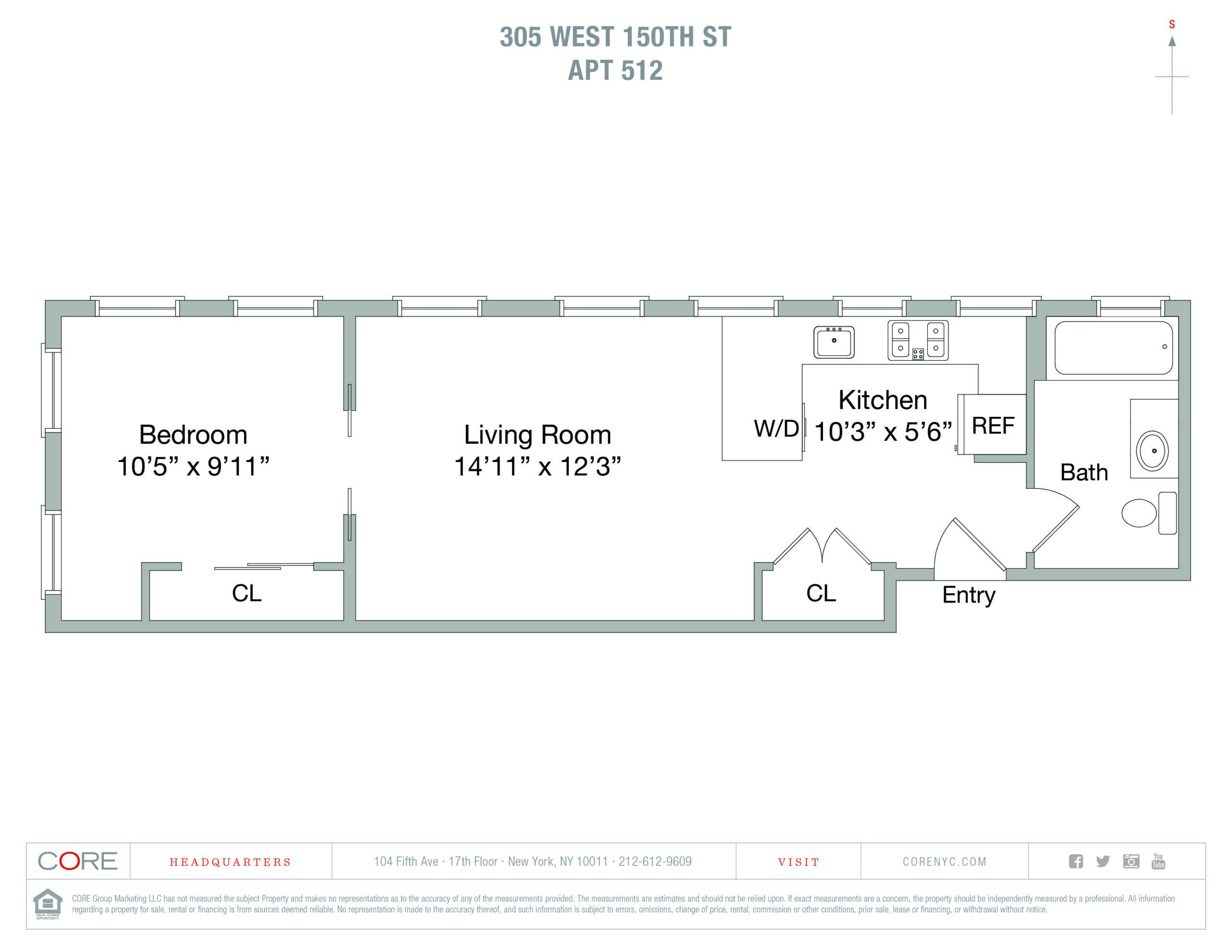 305 West 150th St. 512, New York, NY 10039