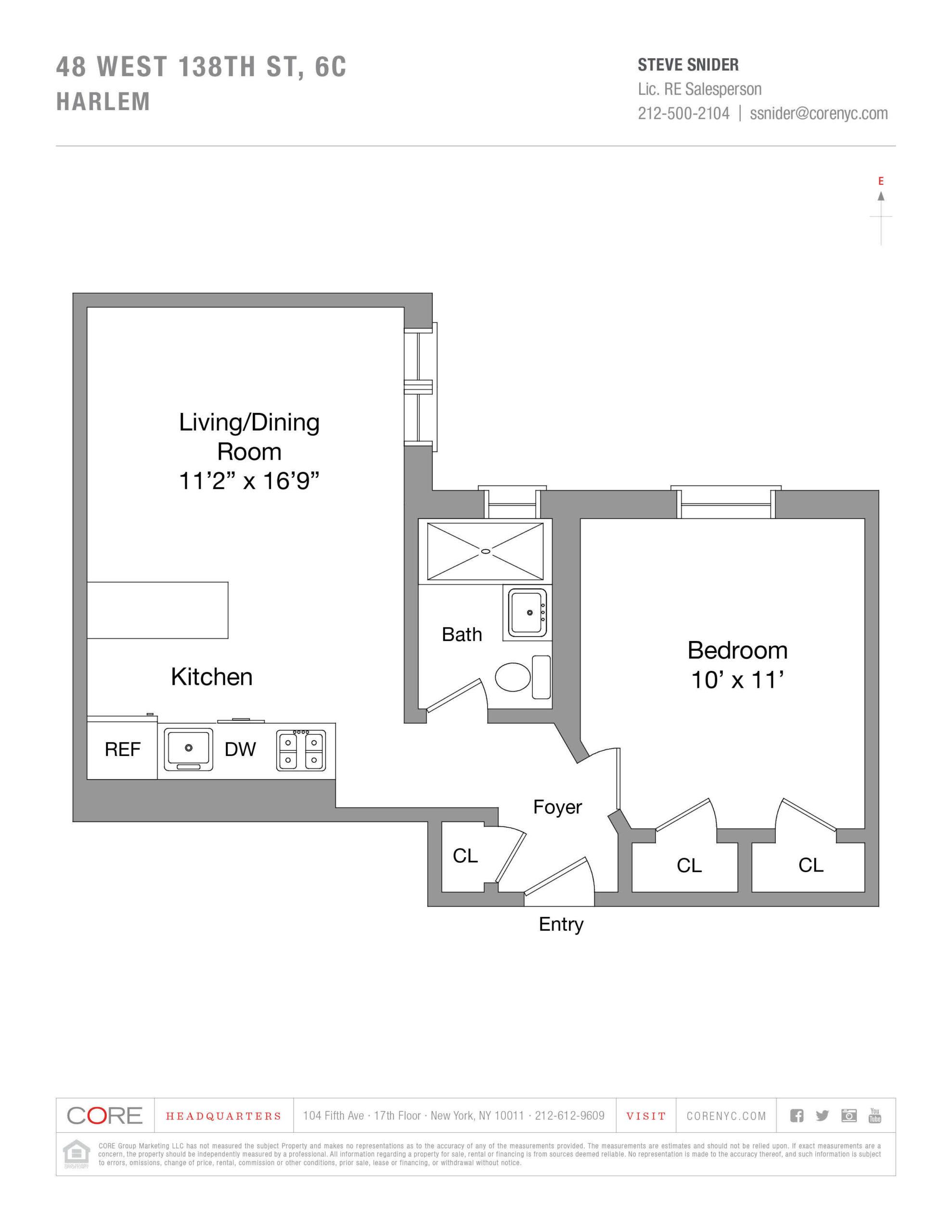 48 West 138th St. SIXC, New York, NY 10037