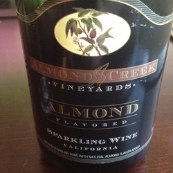 Trader Joe's Almond Flavored Sparkling Wine United States Wine