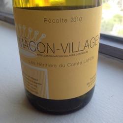 Les Héritiers du Comte Lafon Mâcon-Villages Argentina Wine