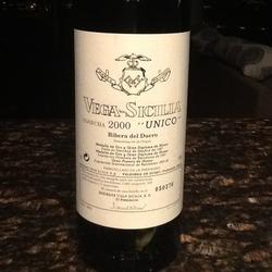 Vega-Sicilia Unico Spain Wine