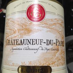 E. Guigal Châteauneuf-du-Pape France Wine