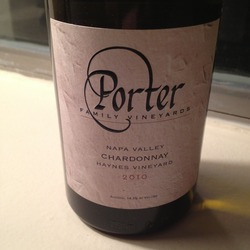 Porter Vineyards Chardonnay United States Wine