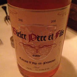 Bieler Pére et Fils Rosé France Wine