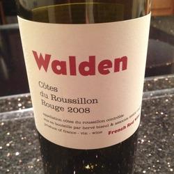 Walden Côtes du Roussillion Rouge France Wine