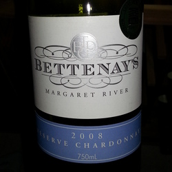 Bettenay's Reserve Chardonnay Australia Wine