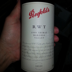 Penfolds RWT (Red Wine Trial) Shiraz Australia Wine