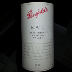 Penfolds RWT (Red Wine Trial) Shiraz Australia Wine