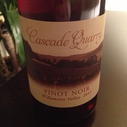 Cascade Quarry Pinot Noir  Wine