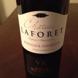 Château Laforet Bordeaux Supérieur  Wine