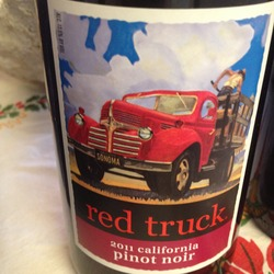 Red Truck Pinot Noir  Wine