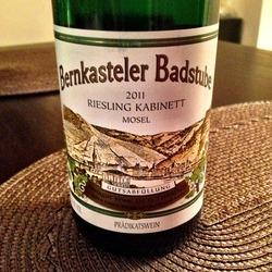 Bernkasteler Badstube Riesling Kabinett  Wine
