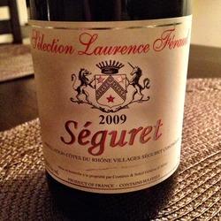 Côtes du Rhône Villages Séguret  Wine