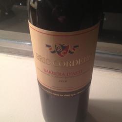 Bric Corderi Barbera d'Asti Italy Wine