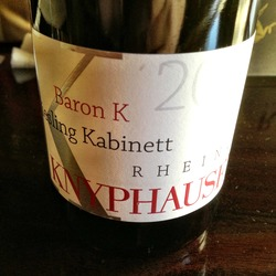 'Baron K' Riesling Kabinett  Wine