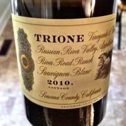 Trione River Road Ranch Sauvignon Blanc  Wine