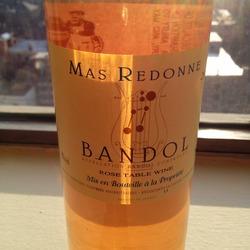 Mas Redonne Bandol Rosé  Wine