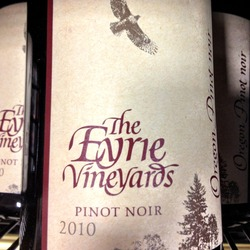 The Eyrie Vineyards Pinot Noir  Wine