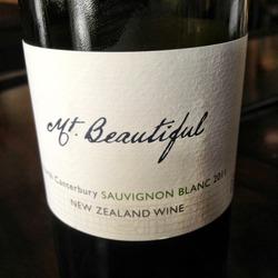Mt Beautiful Sauvignon Blanc  Wine