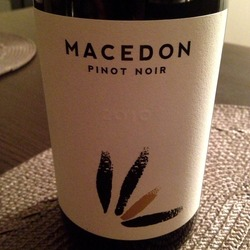 Macedon Pinot Noir  Wine