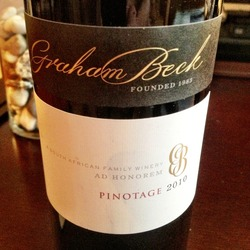 Graham Beck Pinotage  Wine