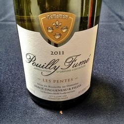 "Serge Dagueneau ""Les Pentes""  Wine"