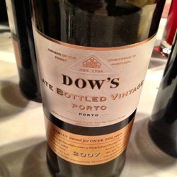 Dow's Late Bottled Vintage Porto  Wine