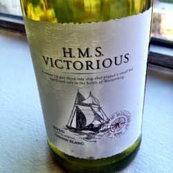H.M.S. Victorious  Wine