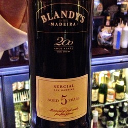 Blandy's 5 Year Old Sercial Madeira  Wine