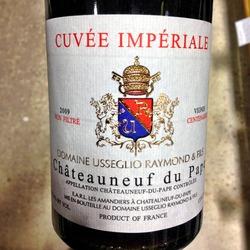 Domaine Raymond Usseglio Châteauneuf-du-Pape  Wine