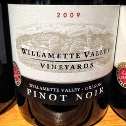 Willamette Valley Vineyards Pinot Noir  Wine