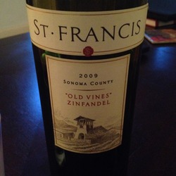 St Francis Old Vines Zinfandel  Wine
