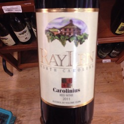 RayLen Carolinius  Wine