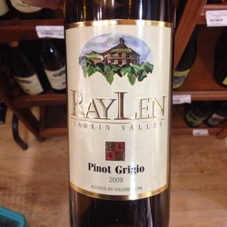 RayLen Pinot Grigio  Wine