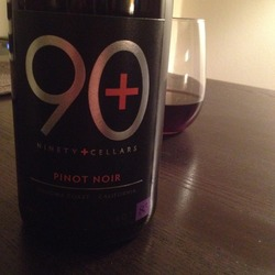 90+ Cellars Pinot Noir  Wine