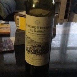 Grande Reserve de Gassac  Wine