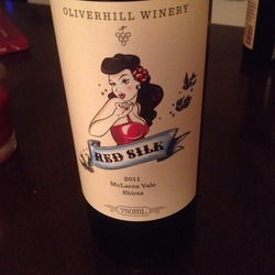 Oliverhill Winery Red Silk  Wine