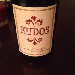Kudos Pinot Noir  Wine