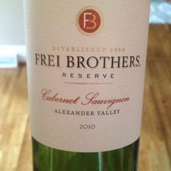 Frei Brothers Reserve Cabernet Sauvignon  Wine