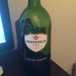 Sheffield Cream Sherry  Wine
