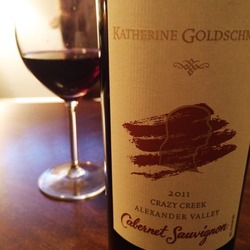 Katherine Goldschmidt Crazy Creek Cabernet  Wine