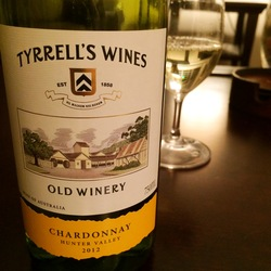Tyrrell's Old Winery Chardonnay  Wine