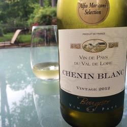 Bougrier Vin De Pays Du Vale De Loire Chenin Blanc  Wine