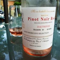 D'Autrefois Pinot Noir Rosé  Wine