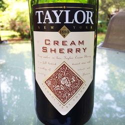 Taylor Cream Sherry  Wine