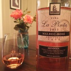 Don Cristóbal Vina La Pinta Malbec-Rosé  Wine