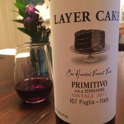 Layer Cake Primativo  Wine