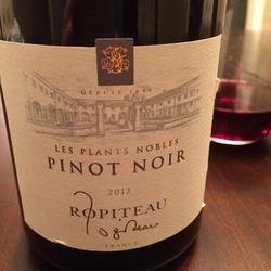 Les Plants Nobles Pinot Noir  Wine