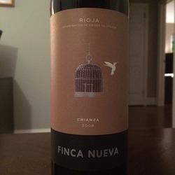 Finca Nueva Rioja Crianza   Wine