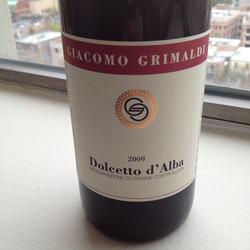 Dolcetto d'Alba Italy Wine
